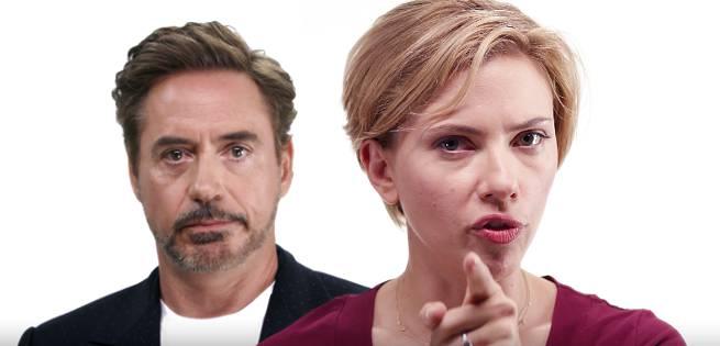 Robert Downey Jr, Scarlett Johansson Appear In Get Out The Vote Video