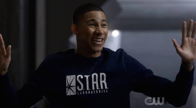 Wally-West-STAR-Labs-sweater