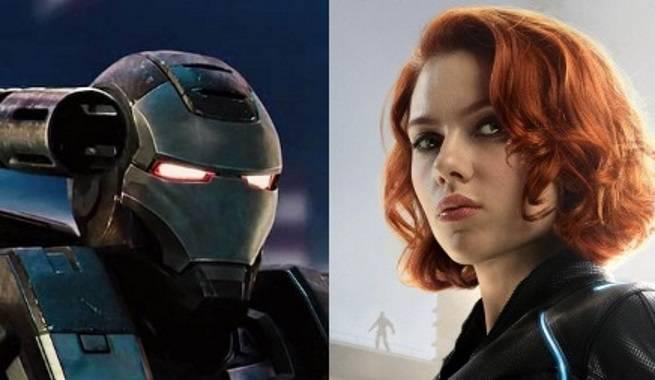 War Machine Black Widow Thor