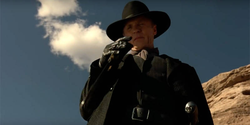 Wesworld Season 1 Finale Man in Black Ed Harris