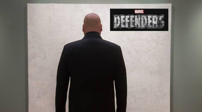 Wilson Fisk Kinpin (Vincent D'Onofrio) In Marvels the Defenders