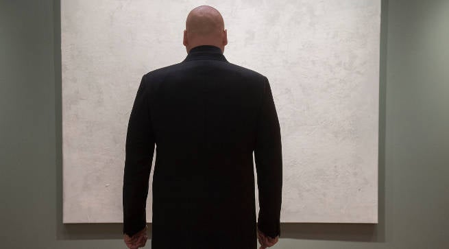 Wilson Fisk Kinpin (Vincent D'Onofrio) In Marvels the Defenders