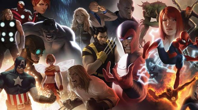 X-Men Marvel Cinematic Universe Crossover