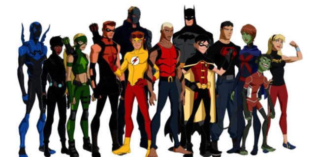 Young Justice Season 3 Team