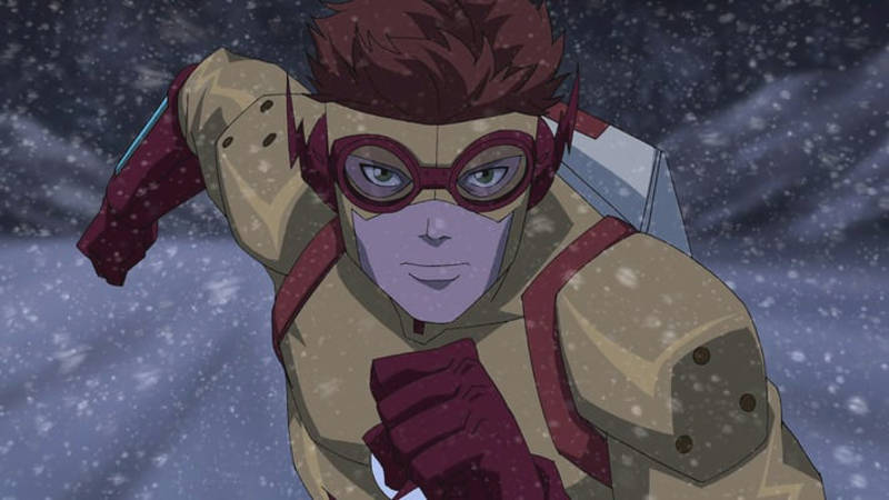 Young Justice Season 3 Wally West Kid Flash