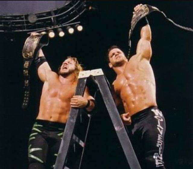 Chris Jericho and Chris Benoit