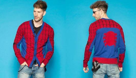 2 - Spider-Man Cardigan