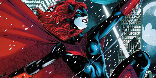 2017 Comics - Batwoman Rebirth