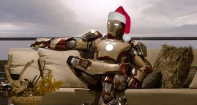 5 - Iron Man 3 Christmas