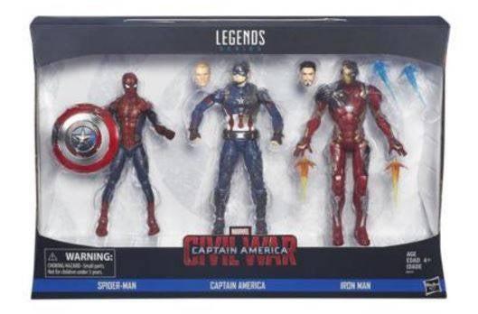 6 - Marvel 3 Pack