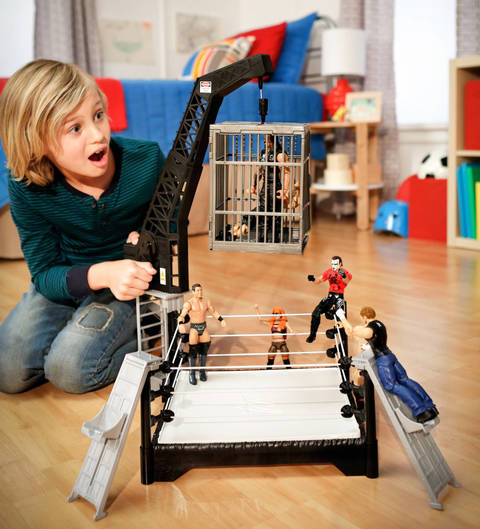 WWE Crash Cage Playset