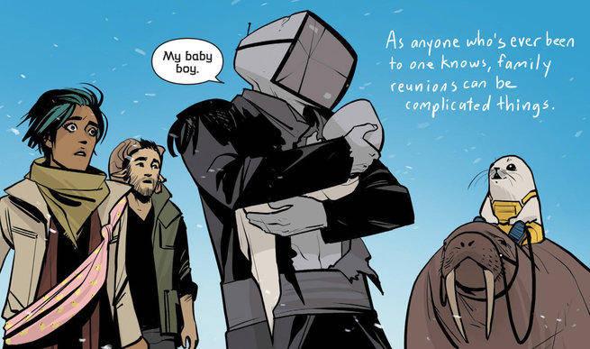 9 - Best Comics - Saga