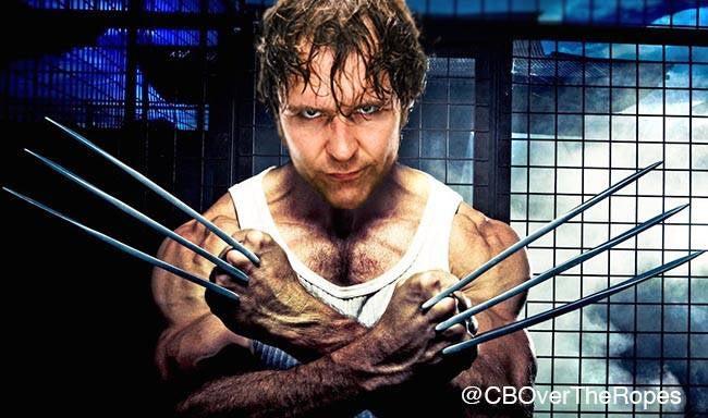 Dean Ambrose Wolverine