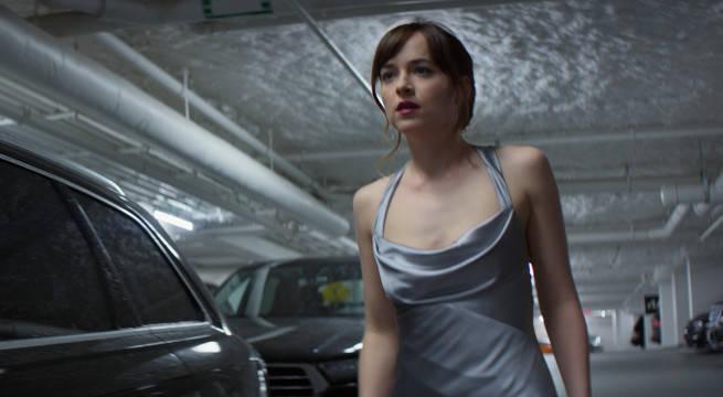 Anastasia in Silver Dress