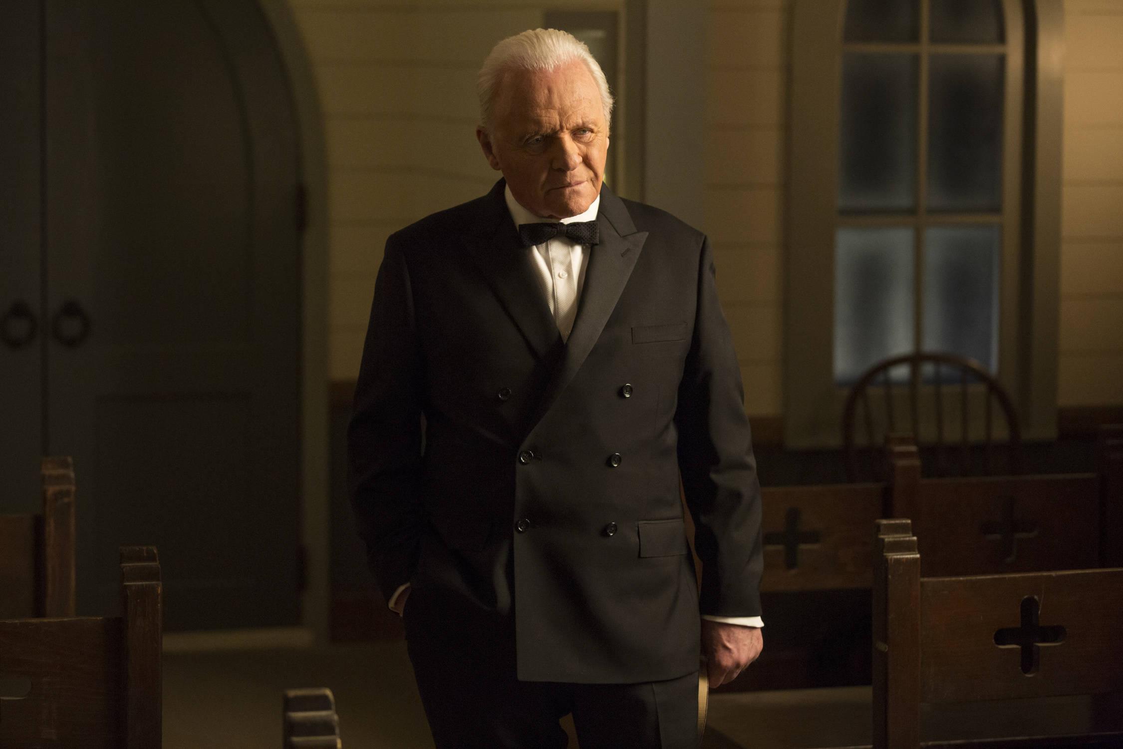 Anthony Hopkins as Dr Robert Ford - credit John P Johnson HBO (2)