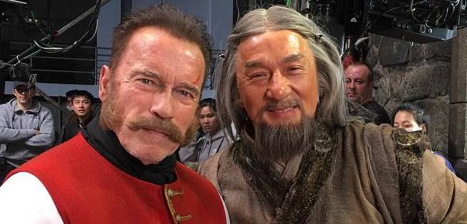 First Look at Arnold Schwarzenegger And Jackie Chan in Russian-Chinese Movie Viy-2