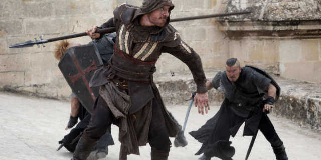 Assassin's Creed Movie Fight Scenes