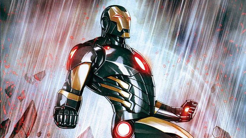 Avengers Infinity War Iron Man Marvel NOW armor Black and Gold