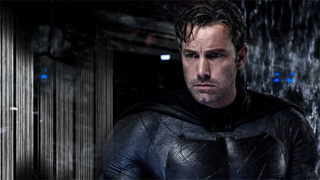 Ben Affleck as The Batman