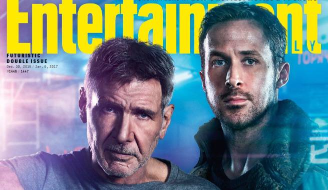Blade Runner 2049: Harrison Ford, Ryan Gosling Cover EW