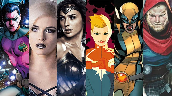 breakout superheroes