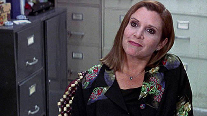 Carrie Fisher in Scream 3