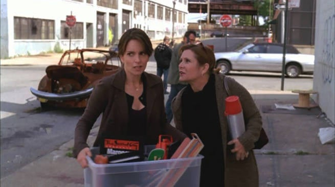 Carrie Fisher on 30 Rock