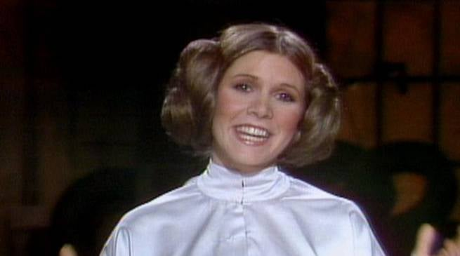 Carrie Fisher on SNL 1978