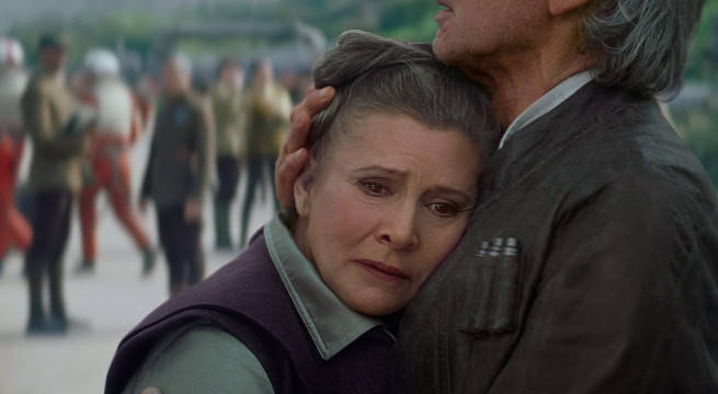 Carrie Fisher's bro and sis