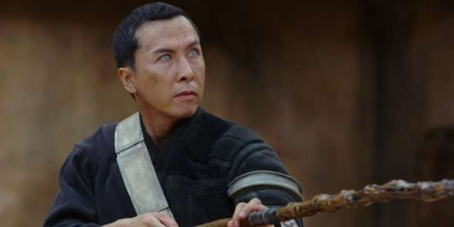 Donnie Yen Does the Bottle Cap Challenge Blindfolded