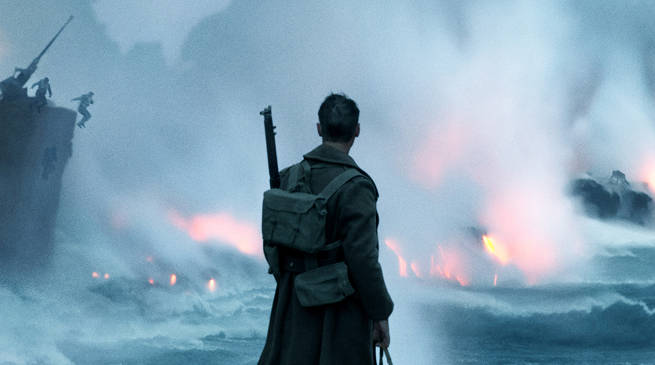 Christopher Nolan Dunkirk Movie Header