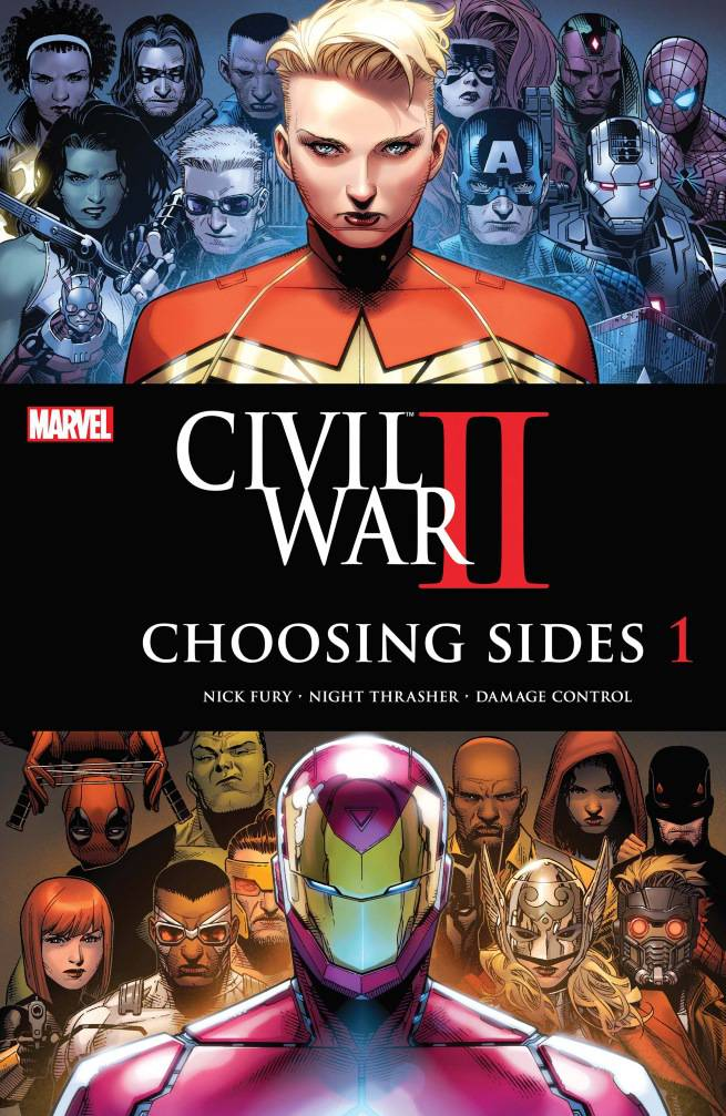 CIVIL WAR II CHOOSING SIDES (2016) #1