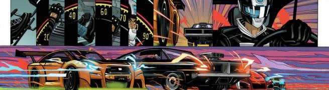 Comics Chases and Races - All-New Ghost Rider