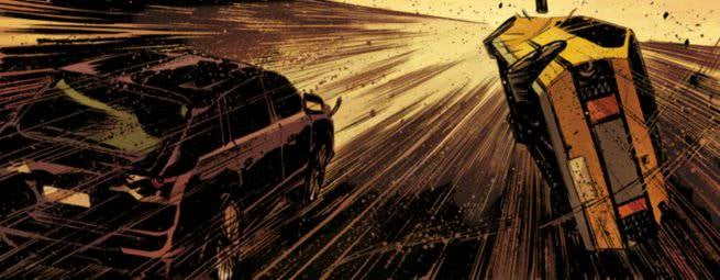 Comics Chases and Races - Dead Body Road