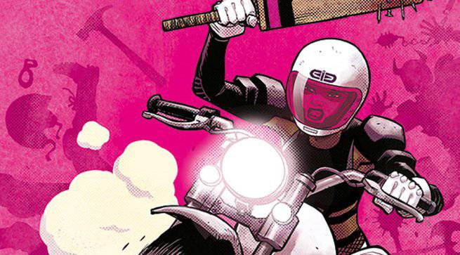 Comics Chases and Races - Motor Crush