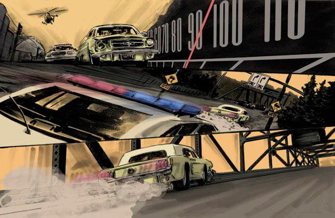 Comics Chases and Races - Stumptown