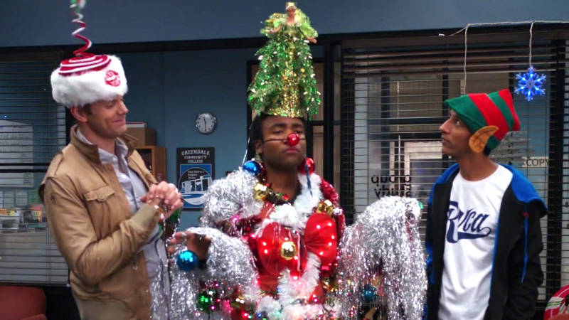 Community Christmas - Abed Uncontrollable Christmas