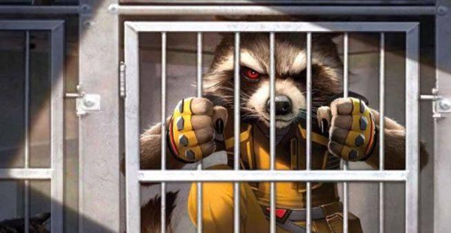 Cosmic Marvel - Rocket Raccoon