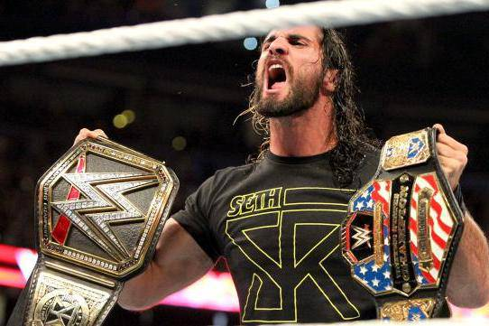 Seth Rollins Double Champion