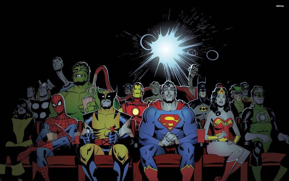 DC Marvel Fox Superhero movies release dates to 2020