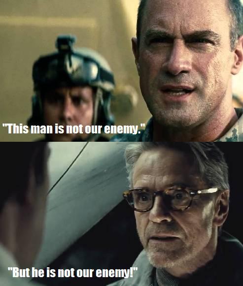 DCEU Superman Not Our Enemy Meme