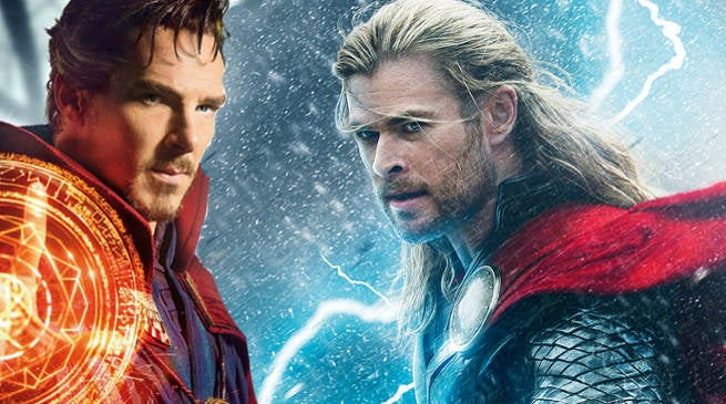 Doctor Strange Passes Thor Dark World Box Office