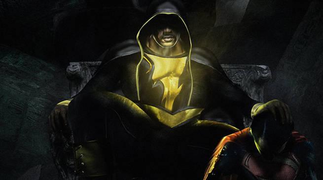 Dwayne Johnson's Black Adam vs. Henry Cavill's Superman by BossLogic