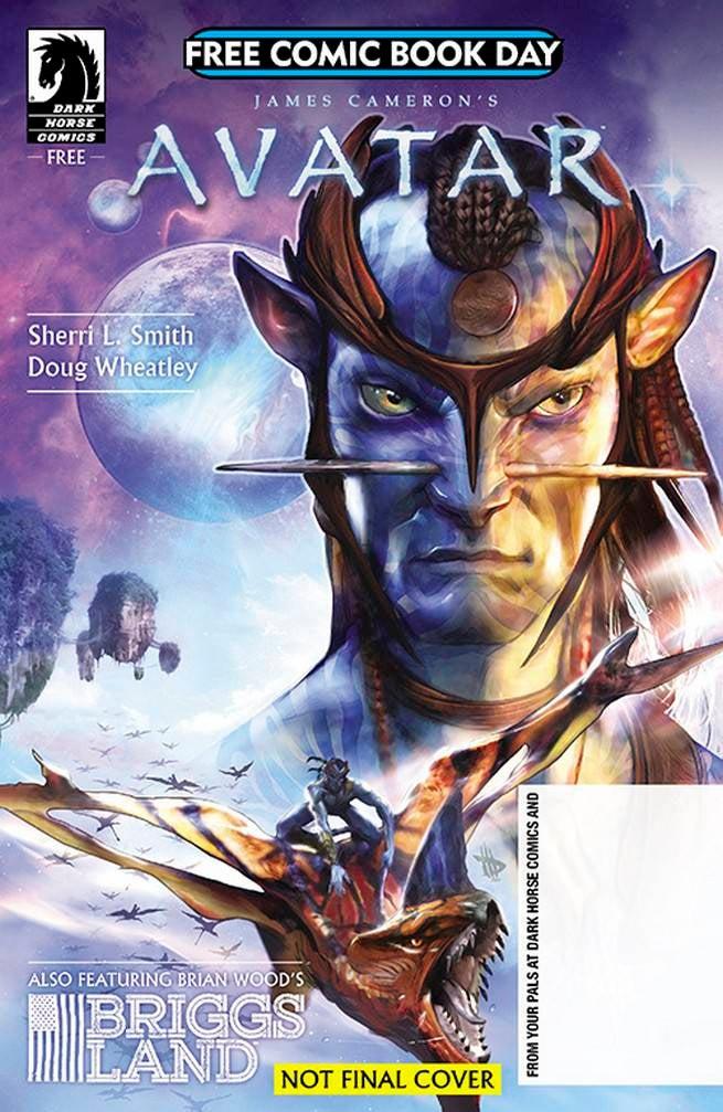 FCBD17_G_Dark Horse - JCameron Avatar_Briggs Land
