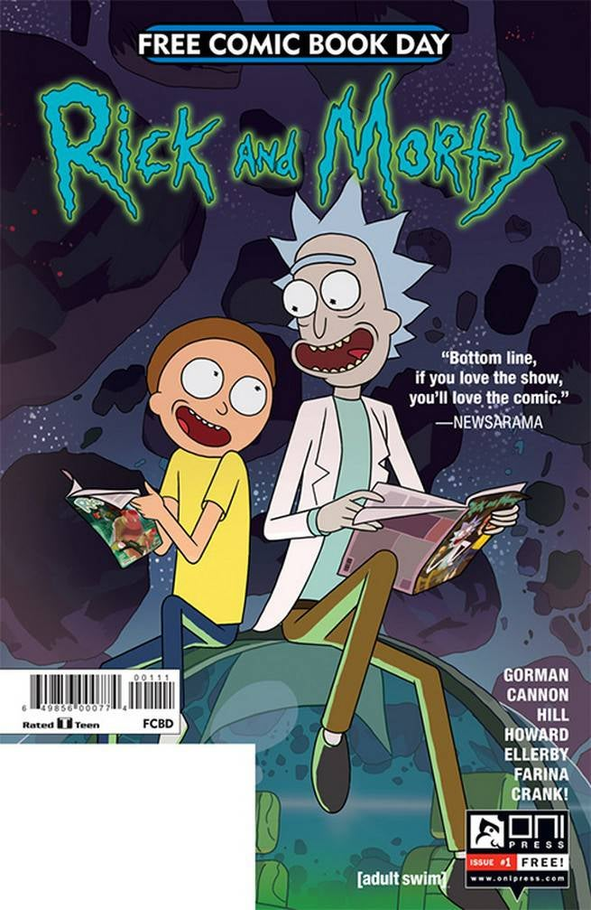 FCBD17_G_Oni Press - Rick and Morty 1