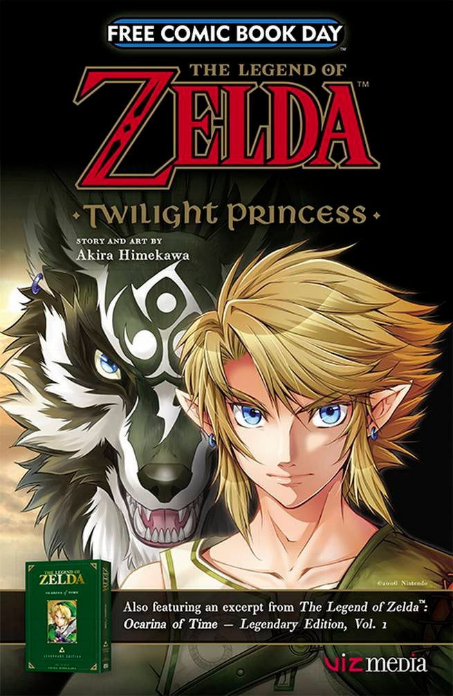 FCBD17_G_VIZ Media - Leg o Zelda Twilight Princess_Ocarina o Time