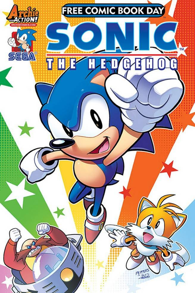 FCBD17_S_Archie Comics - Sonic Genesis of a Hero