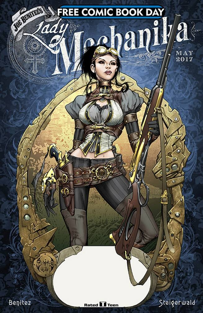 FCBD17_S_Benitez Productions - Lady Mechanika