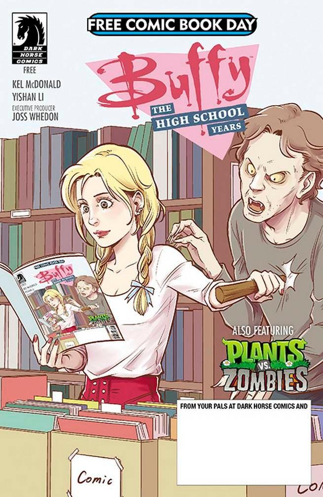 FCBD17_S_Dark Horse - BTVS HS_Plants v Zombies
