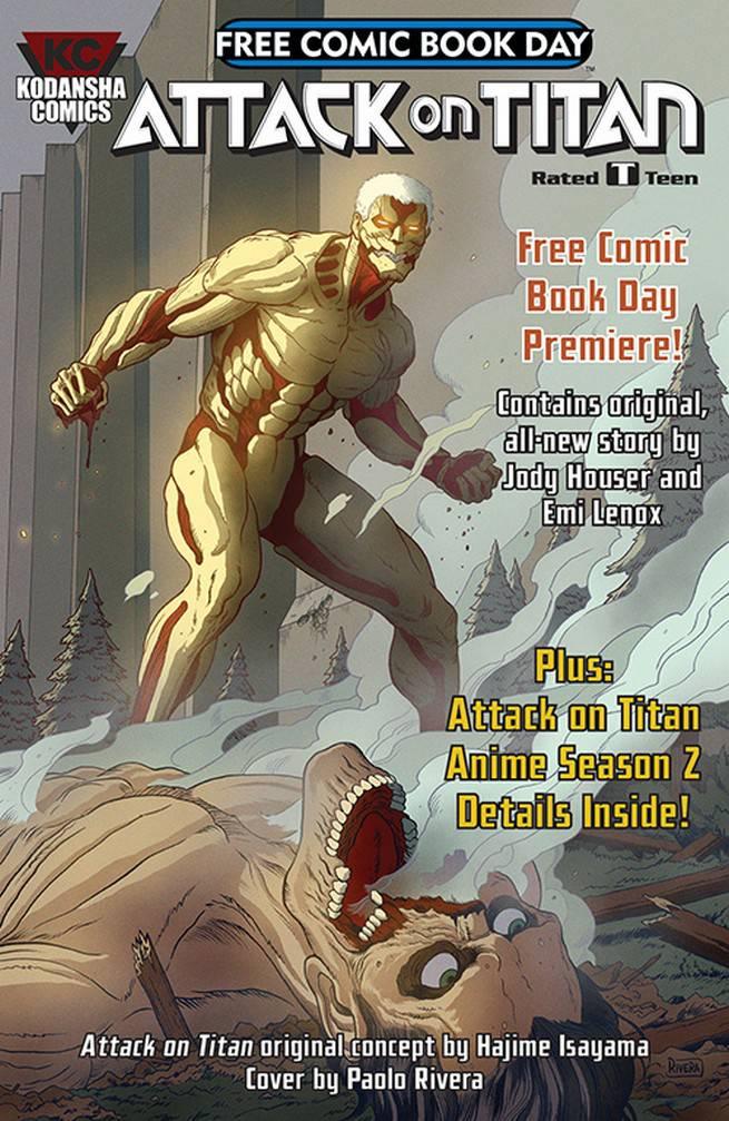 FCBD17_S_Kodansha - Attack on Titan New Original